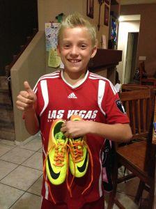 Cole's Soccer Laces
