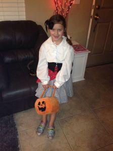 Ava as a Pirate Princess