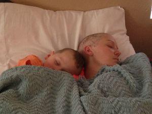 Grady & Mom Napping