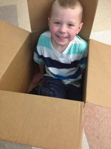 Grady in a Box